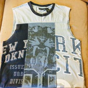 DKNY Men's sleeveless T-shirt.